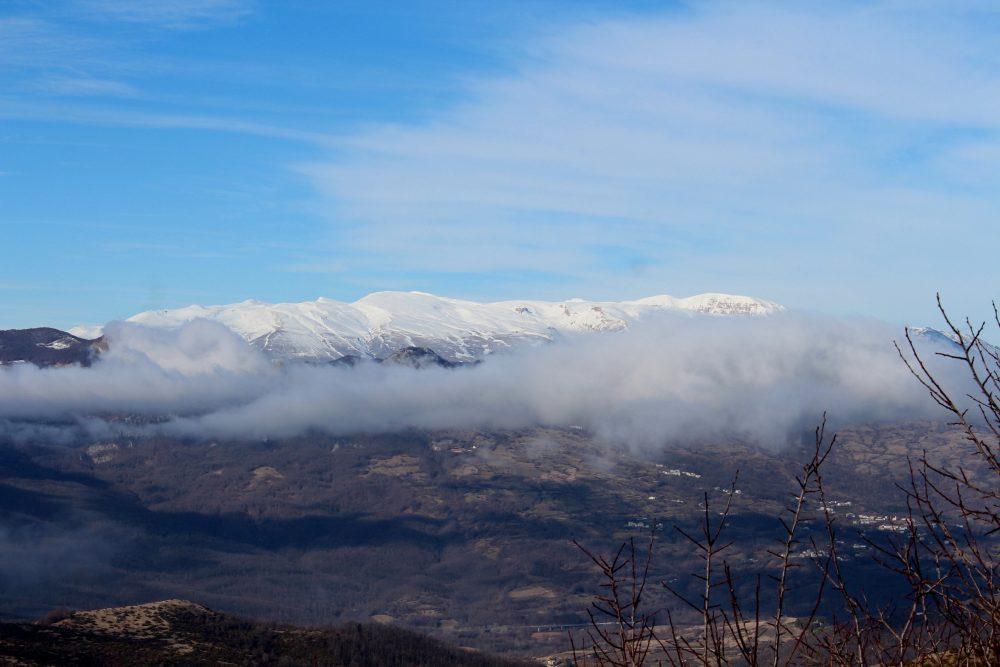 Osteria l'Elfo - veduta delle montagne circostanti