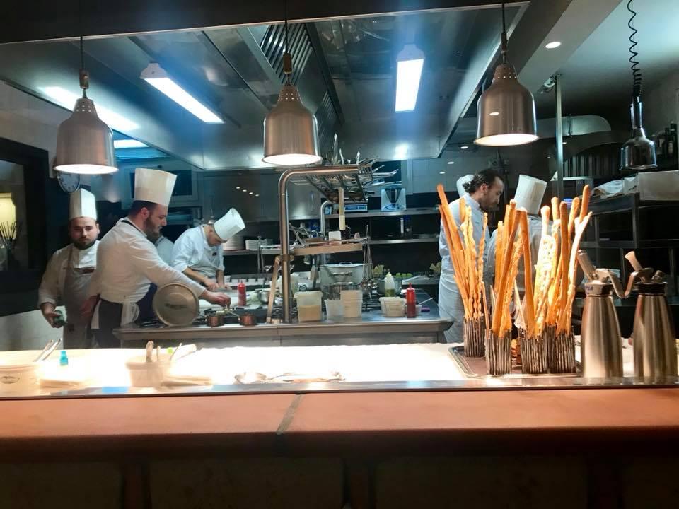 Taverna Estia, la cucina