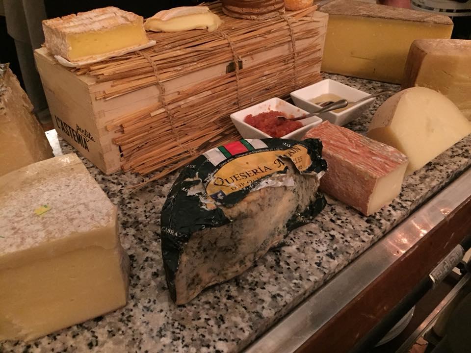 Enoteca La Torre, carrello dei formaggi