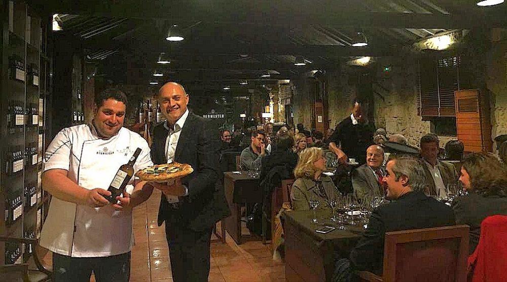 La pizza di Antonio Mezzero e Attilio Albachiara