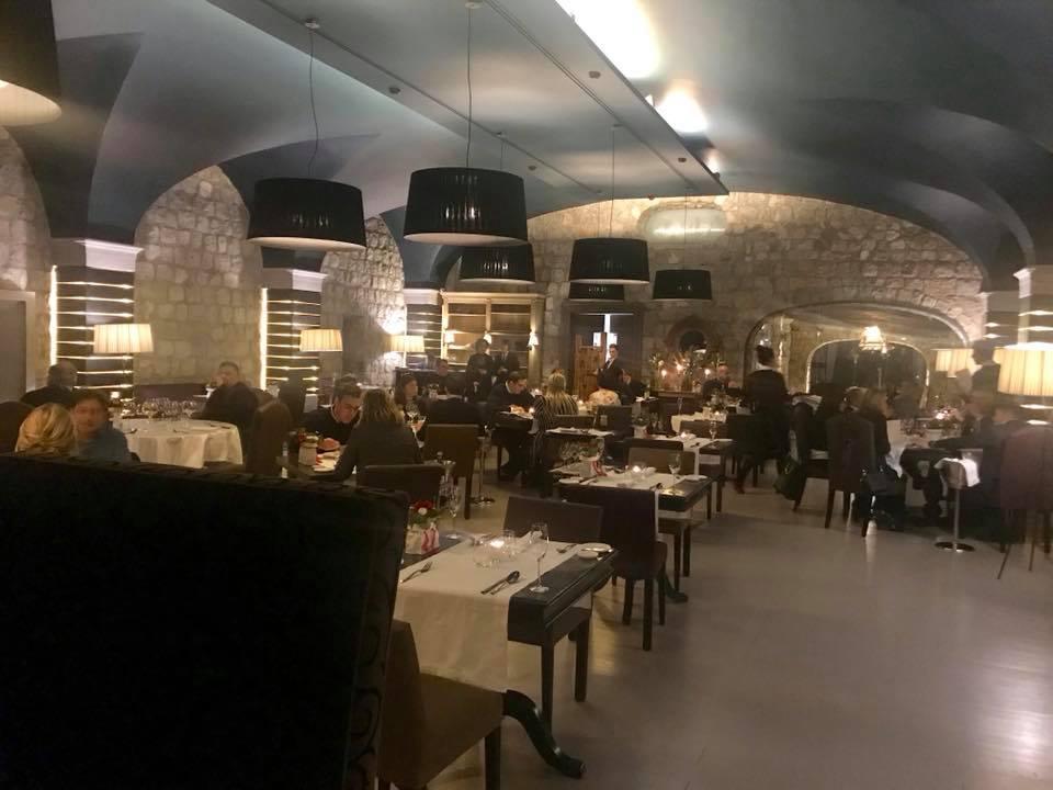 Locanda del Borgo Aquapetra a Telese, la sala