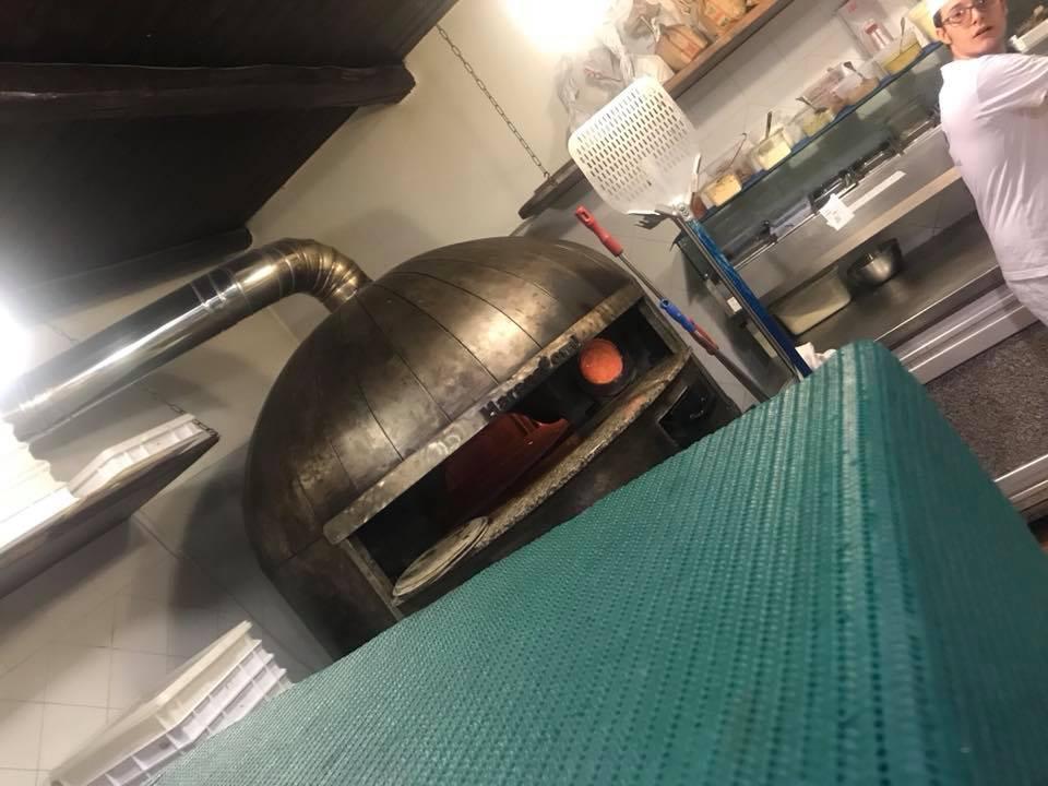 La Braciera, il forno