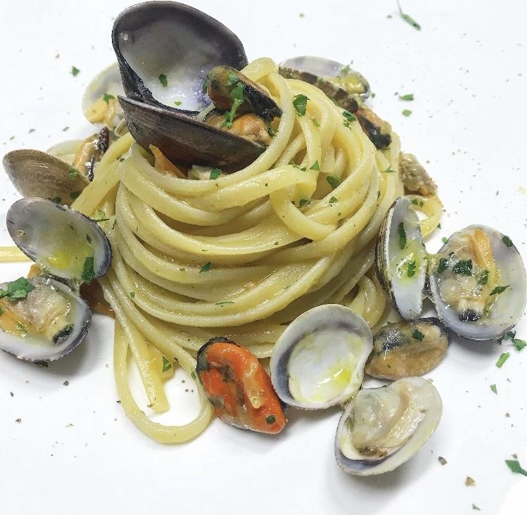 Osteria Excelente - Spaghetti con vongole