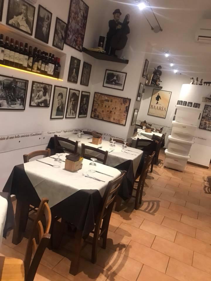 La Braciera, i tavoli
