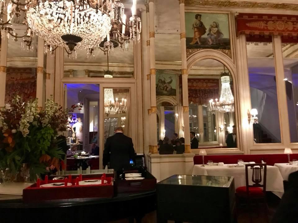 Ristorante Dal Cambio a Torino, la sala