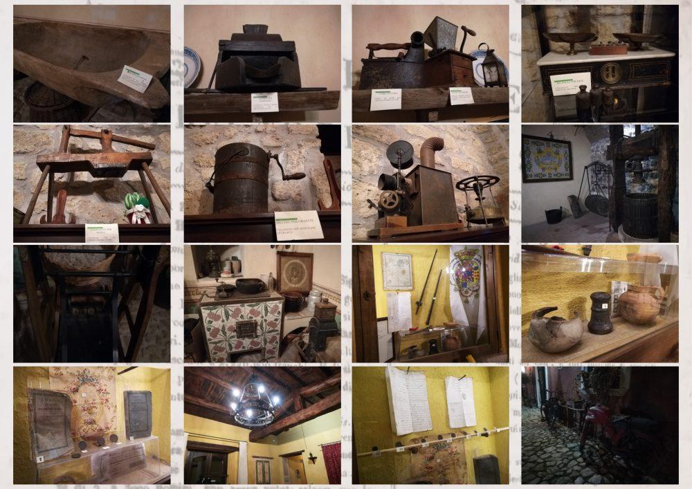 Alcuni degli oggetti antichi presenti nella Masseria