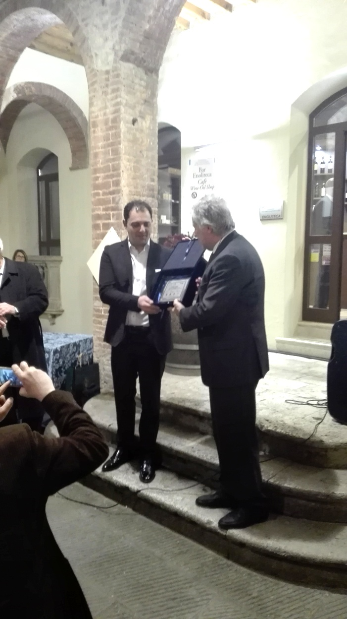 Anteprime Toscane 2018 - Consegna Premio Sarno