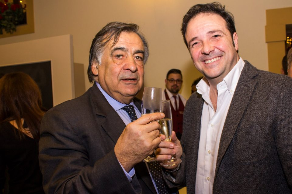 Antonio Cottone con Leoluca Orlando