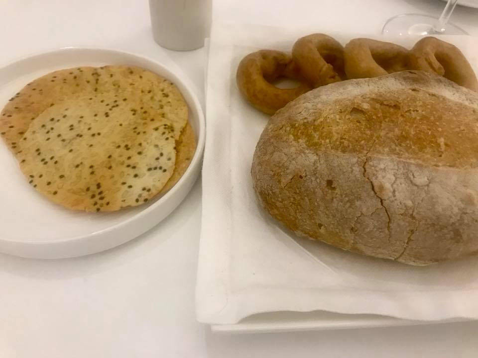 Arbustico, pane e taralli