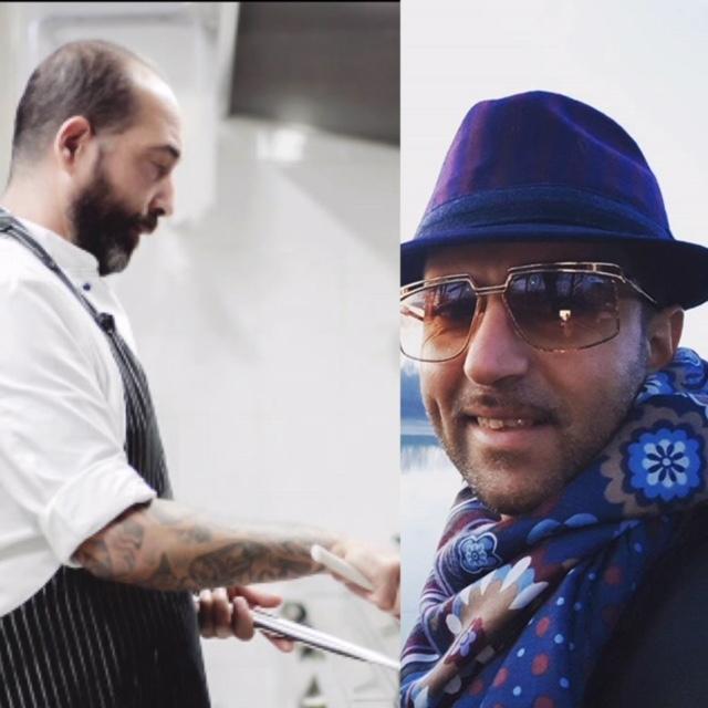 Chef Massimo Russo e Angelo Piccolo
