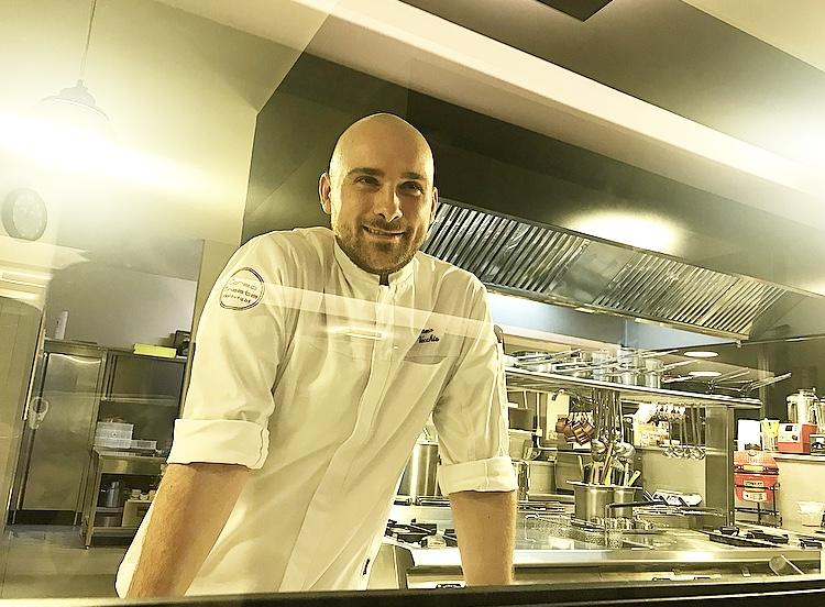 Chef Stefano Del Vecchio