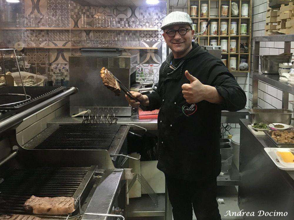 Cillo Grill & Barbecue House. Sabatino Cillo alle braci