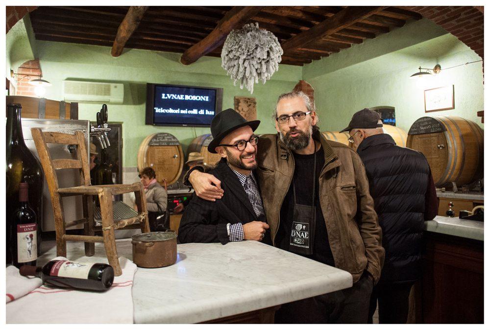 Con Diego Bosoni a Lunae