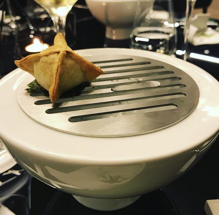 Corso Trieste Restaurant - Raviolo di verdura