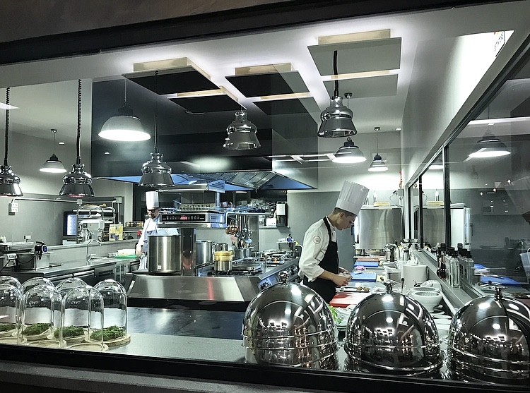 Corso Trieste Restaurant - cucina a vista