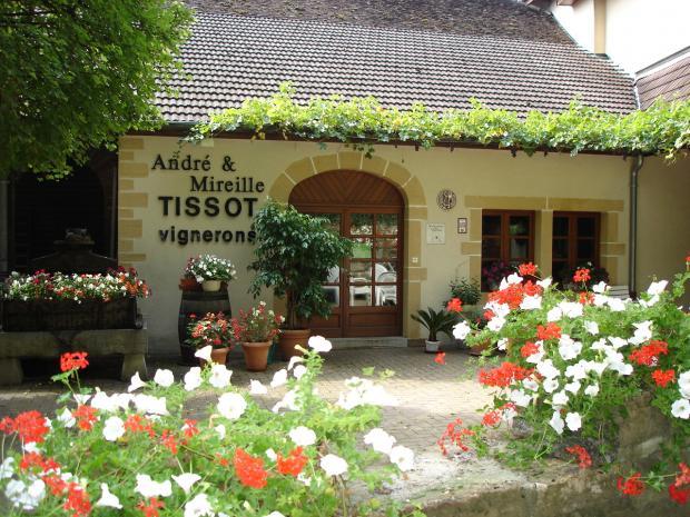 Domaine Andre et Mireille Tissot, entrata azienda