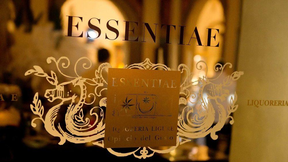 Essentiae Liquoreria Ligure - L'entrata del laboratorio
