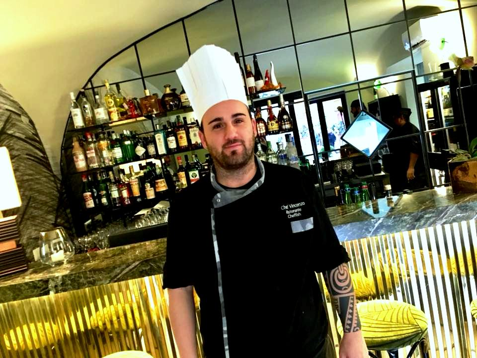 Lo Chef Vincenzo Morvillo