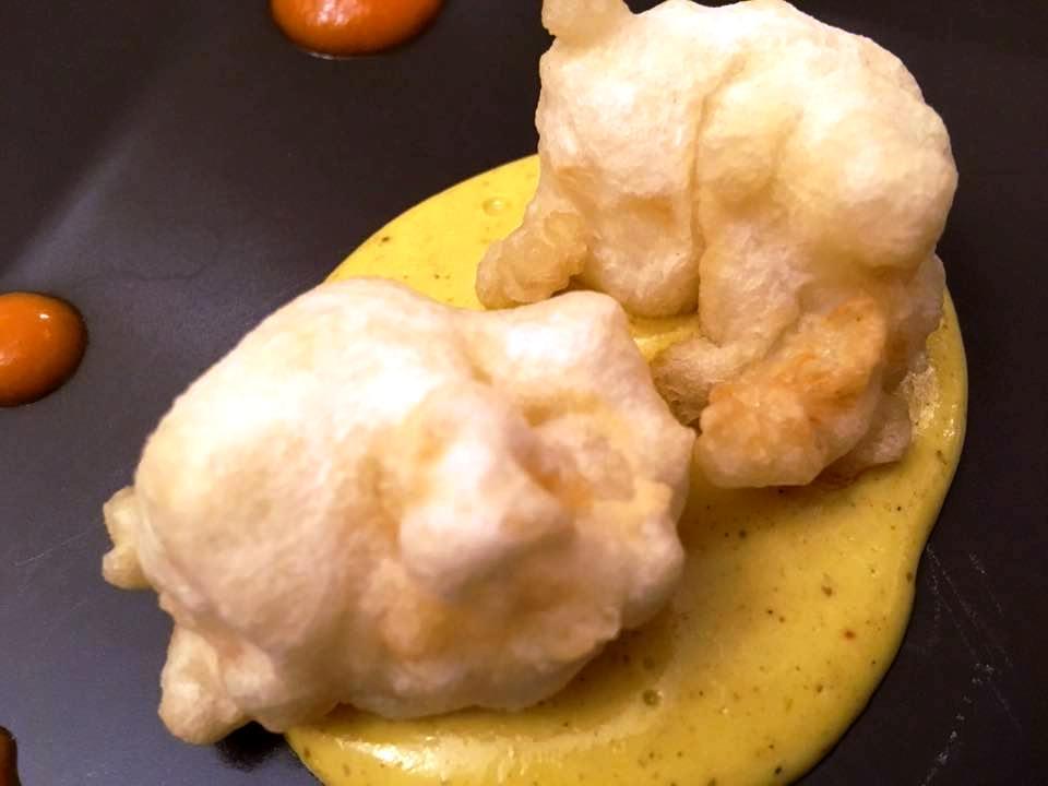Ristorante Emozioni, La Tempura di Scampi di Sicilia al Curry