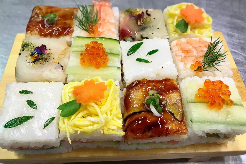Aka Sushi, Temarizushi
