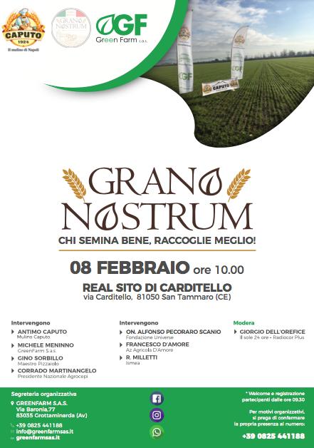 Grano Nostrum 8 febbraio