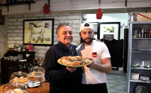 Simone Gallo e Mario Fusco della Pizzeria La Fazenda