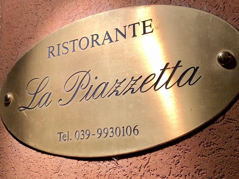 La Piazzetta, insegna, che Milano da un'altra visuale, regala pace inusuale