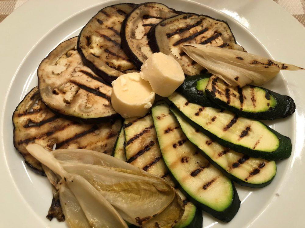 La Piazzetta, verdure alla griglia