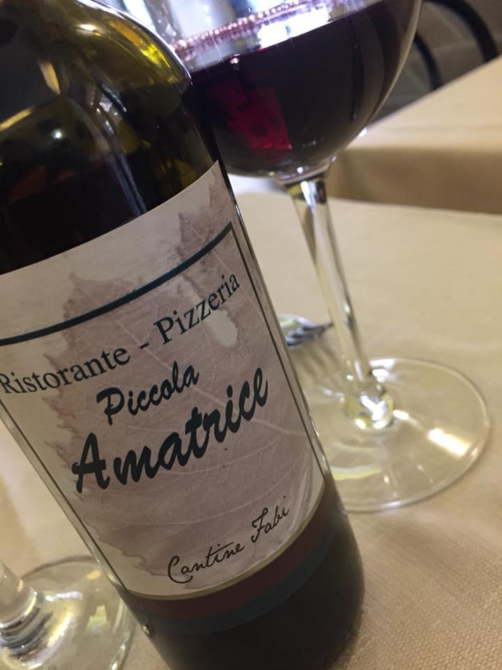 La Piccola Amatrice, il vino dei Castelli