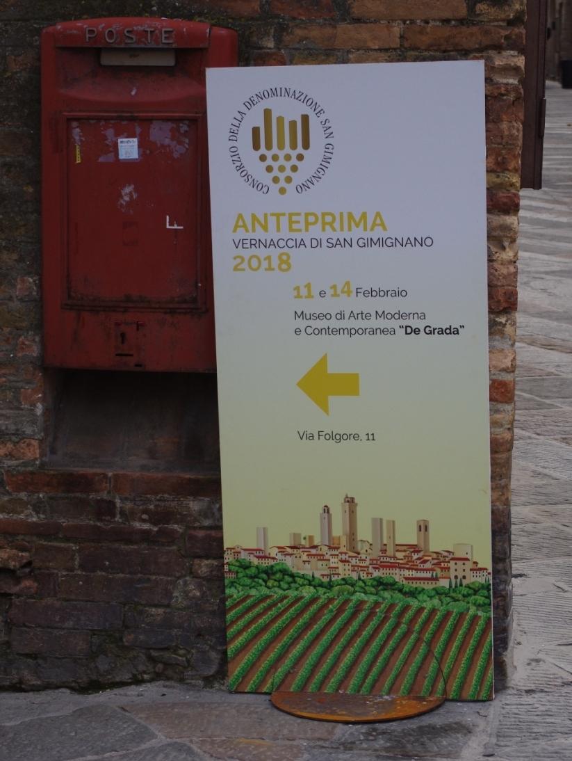 Logo, Anteprime Toscane 2018 - Vernaccia di San Gimignano
