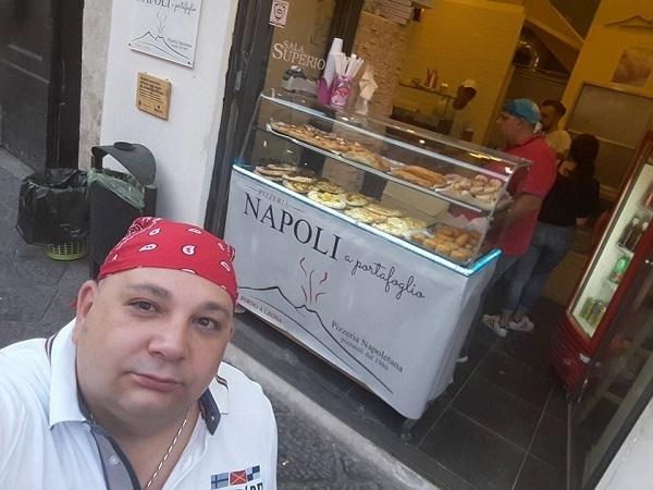 Luca Napolitano pizzaiolo di Napoli a Portafoglio