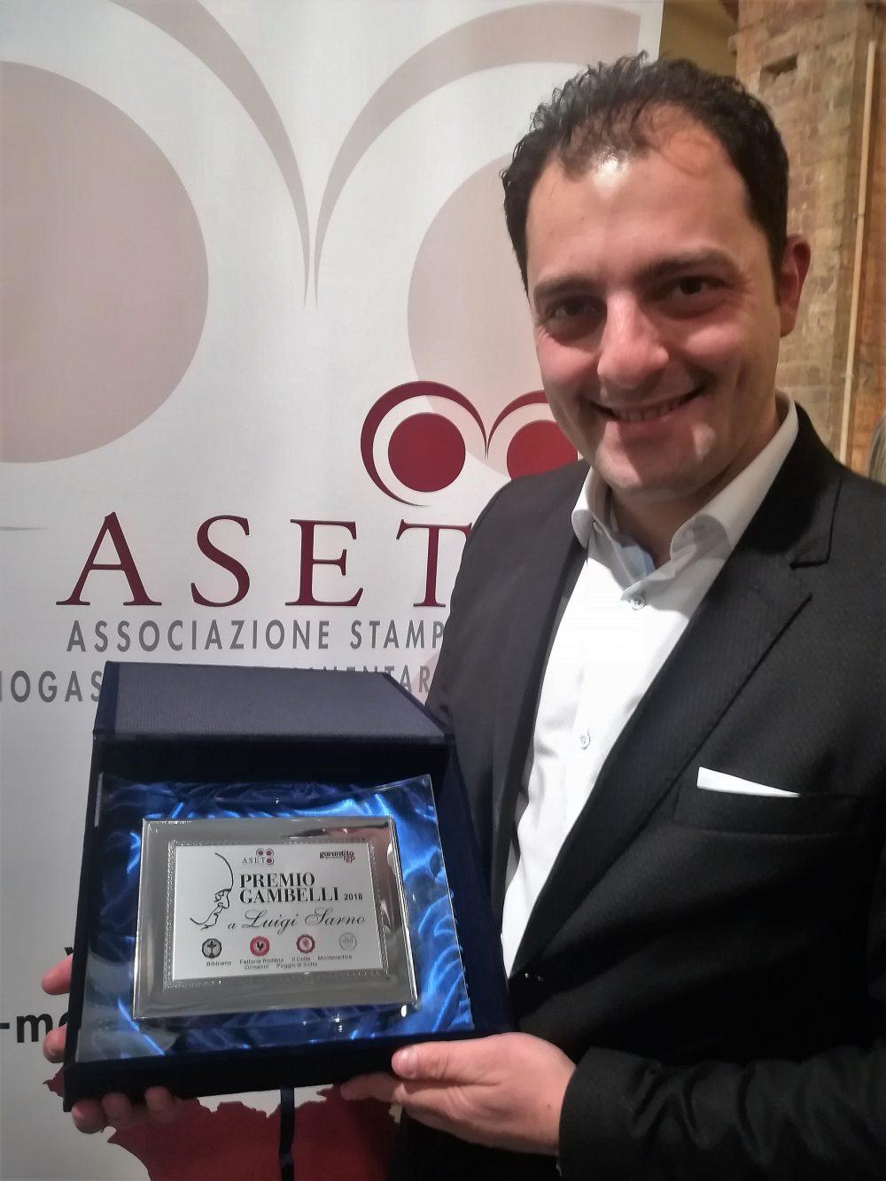 Luigi Sarno - Premio Gambelli 2018