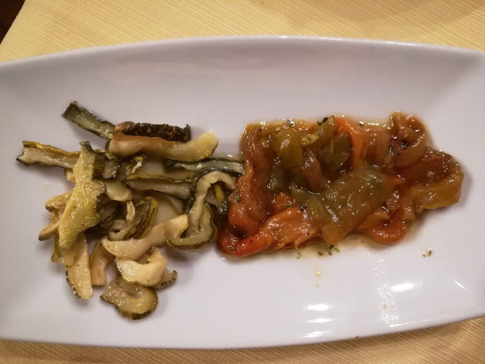 Masseria Grande - zucchine e peperoni