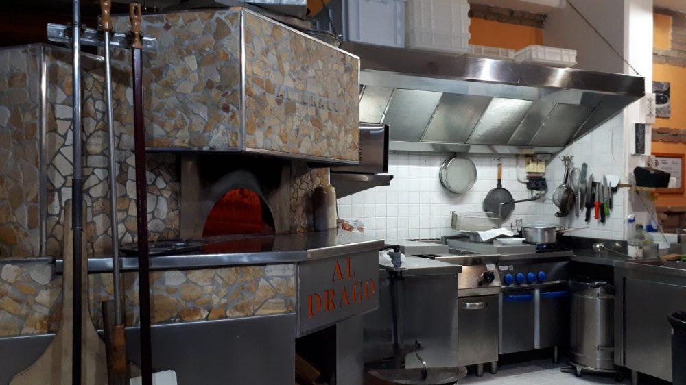 Pizzeria Al Drago- il forno