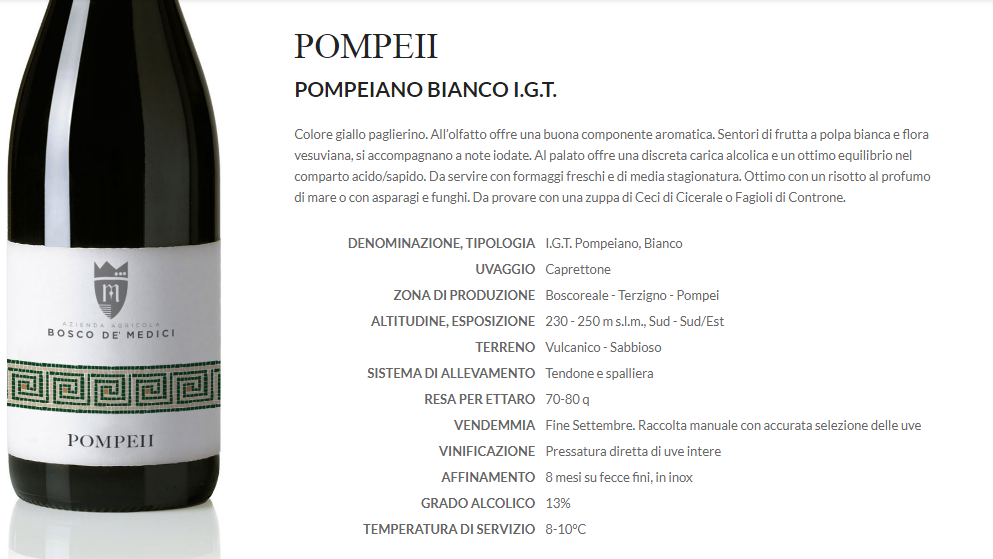 Pompei bianco