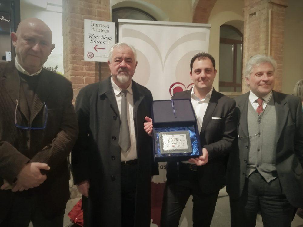Premio Gambelli 2018 - Carlo Macchi, Piero Di Betto, Luigi Sarno e Stefano Tesi
