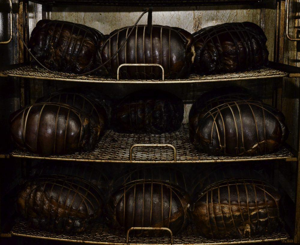 Sabatino Cillo - i prosciutti nel forno