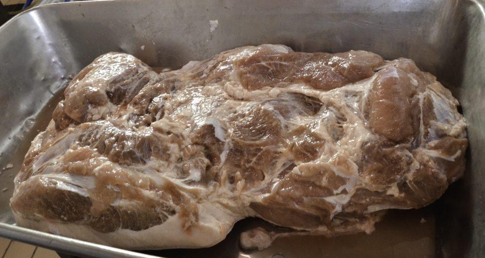 Sabatino Cillo - il prosciutto in salamoia