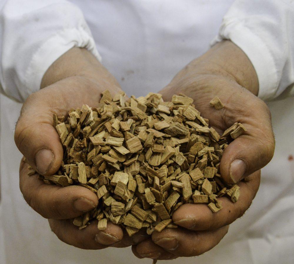 Sabatino Cillo - legna di ciliegio e faggio per l'affumicatura