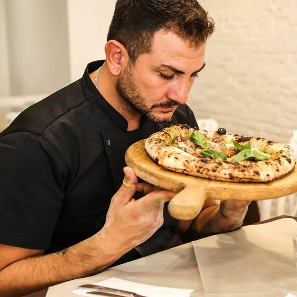 Il Pizzaiolo Sasa' Martucci della Pizzeria I Masanielli