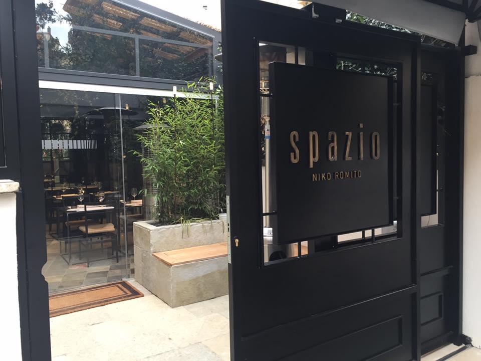 Spazio Roma, ingresso del ristorante
