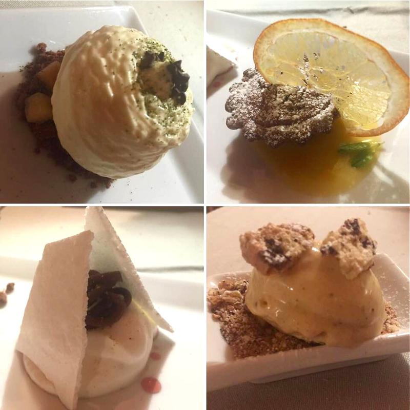 Tenuta Borgo Santa Cecilia, I dolci e il gelato