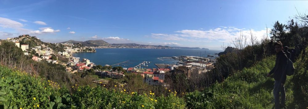 Tra i vigneti panoramici