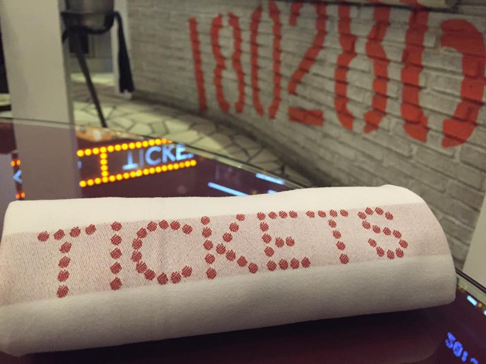 Tickets, il tovagliolo