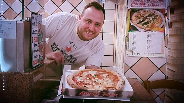 Pizzaiolo Marco del Grotto