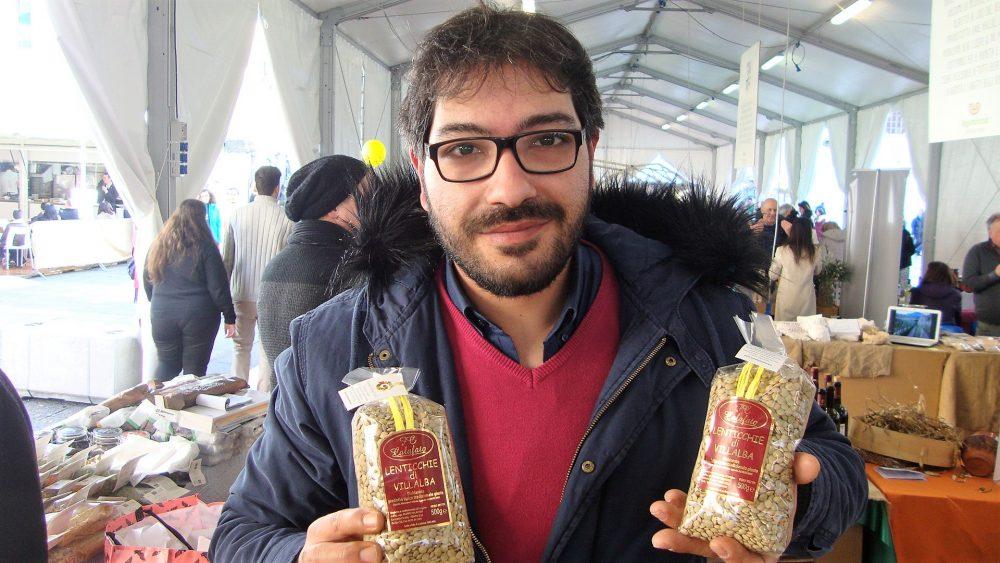 Leguminosa 2018 – il produttore Calafato Filippo della lenticchia di Villalba
