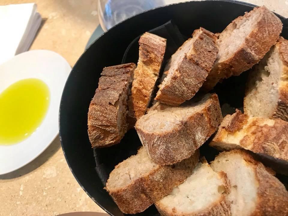 Attimi di Heinz Beck a Fiumicino, il pane