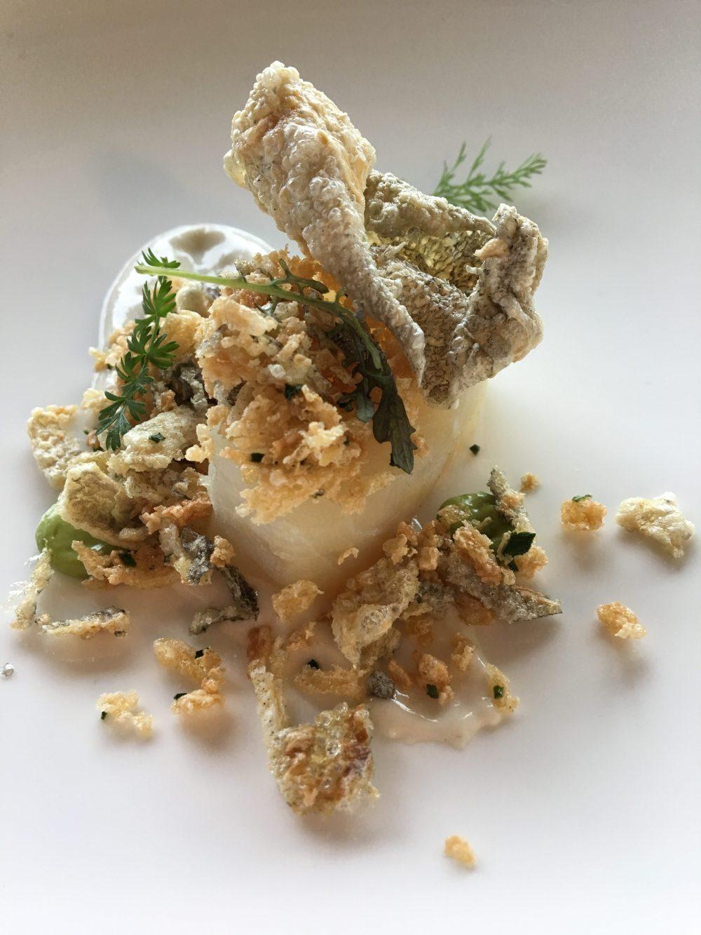 Baccala' mantecato con briciole, aglio e prezzemolo