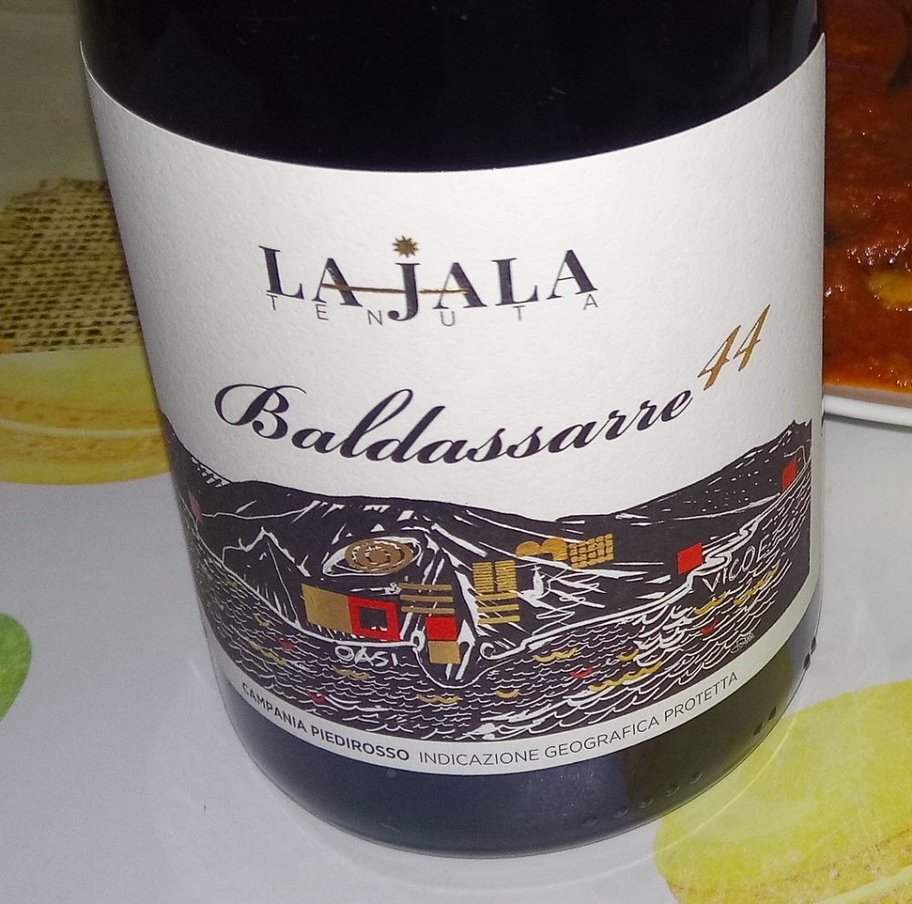 Baldassarre Campania Piedirosso Igp 2016 La Jala