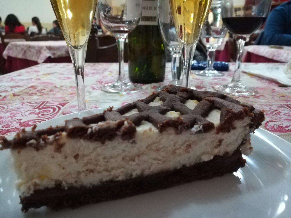 Boccone Facile, crostata con ricotta e cioccolato